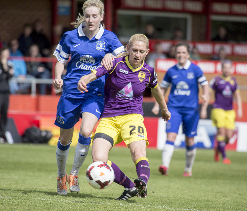 Notts County Ladies VS Everton Ladies F.A. Cup Semi Final 2014_0068