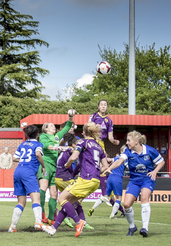 Notts County Ladies VS Everton Ladies F.A. Cup Semi Final 2014_0080
